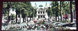 Monaco Monte Carlo Casino -  Carte Panoramique 9X22 Cm - Editions RELLA - Monte-Carlo
