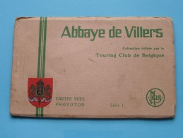 Abbaye De VILLERS ( Touring Club ) Série 1 () Carnet 10 Kaarten ( Zie Foto´s ) ! - Villers-la-Ville