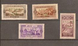 GREAT LEBANON  1925, Airmail Overprints