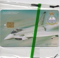 GIBRALTAR PHONECARD AIRPLANE/EUROFIGHTER TYPHOON-GIB-C7-3000pcs -1/99-MINT/SEALED-RARE!!!