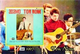 Carte Postale, Célébrités,  Chanteurs, Belgium, Full Collection Salvatore Adamo, 1967, Ton Nom (Canada) - Sänger Und Musikanten