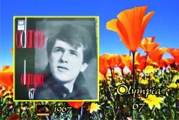 Carte Postale, Célébrités,  Chanteurs, Belgium, Full Collection Salvatore Adamo, 1967, Olympia 67 (France) - Sänger Und Musikanten