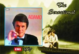 Carte Postale, Célébrités,  Chanteurs, Belgium, Full Collection Salvatore Adamo, 1967, The Sensational (UK) - Sänger Und Musikanten