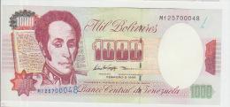 Venezuela 1000 Bolivares 1998 Pick 76c UNC - Venezuela
