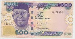Nigeria 500 Naira 2010  Pick 30 UNC - Nigeria