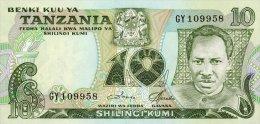 Tanzania 10 Shillings 1978 Pick 6c UNC - Tanzanie