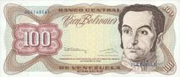 Venezuela 100 Bolivares 1992 Pick 66e UNC - Venezuela