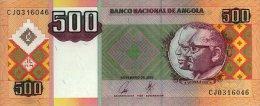 Angola 500 Kwanzas 2003  Pick 149 AUNC - Angola