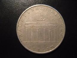 KM#29 1971A Cooper Nickel 5 Mark 1971 Brandenburg Gate East Germany DDR D.D.R. - [ 6] 1949-1990 : RDA - Rép. Démo. Allemande