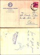 3640a)cartolina Istituto Universitario  Di Magistero-catania - Reclame