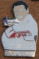 FORMULE 1  - PIKOTE SATORU NAKAJIMA - CASQUE - THE MOST SUCESSEUR JAPANESE GRAND PRIX DRIVER OF ALL TIME-    (13) - F1