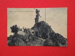Nuoro La Statua Del Redentore Con Bella Animazione 1937 Ed. Malgaroli - Nuoro