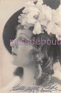 GERMAINE PAPE  - Carte Photo - Chanteuse Comédienne Opera  - 1932 - Autographe - Voir Les Scans - Théâtre