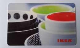 GIFT CARD - SWITZERLAND - IKEA - 2009 - CUPS - Gift Cards