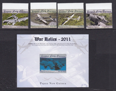 PAPUPA NEW GUINEA 2011 WORLD WAR II RELICS - Papoea-Nieuw-Guinea