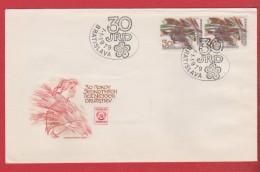 Tchécoslovaquie  --  Bratislava  11/1/1979 - Cartas