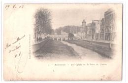 FR66 PERPIGNAN - Grand Bazar 3 - Précurseur - Les Quais Et Le Pont De Guerre - Perpignan
