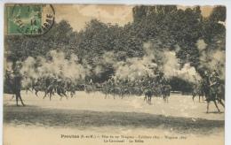PROVINS - Fête Du 29ème DRAGONS  - Le Carrousel - La Mêlée - Provins