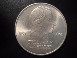 KM#40 1972A Cooper Nickel 20 Mark 1972 Friedrich Von Schiller Poet East Germany DDR D.D.R. - [ 6] 1949-1990 : RDA - Rép. Démo. Allemande