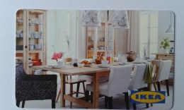 GIFT CARD - SWITZERLAND - IKEA - 2010 - TABLE AND CHAIRS - Gift Cards