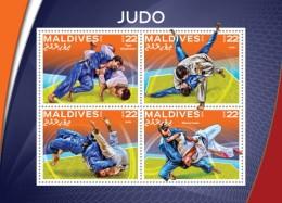 Maldives. 2016 Judo. (509a)