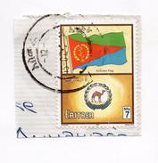 F2231 - ERITREA Bandiera Flag - Camel Cammello - Eritrea