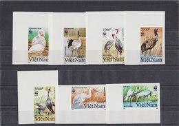VIETNAM 1991 WWF Imperforated MNH With Birds. - Ongebruikt