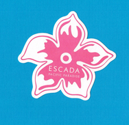 Cartes Parfumées Carte ESCADA PACIFIC PARADISE - Perfume Cards