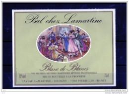 EROTIQUES - Bal Chez Lamartine (Etiquettes Légèrement Collées  Sur Page D´expo) - Erotic