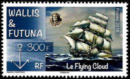 Wallis And Futuna - 2016 - The Flying Cloud Sailing Boat - Mint Stamp - Wallis-Et-Futuna