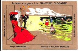 FRanz Laskoff ?   Pubblicitaria  Negozio Di Guanti A Parigi - Pubblicitari