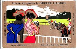 Franz Laskoff ? - Pubblicitaria Negozio Di Guanti A Parigi - Pubblicitari