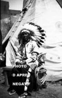Chef Sioux Expo Bruxelles 1935 - Indiani Dell'America Del Nord