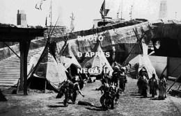 Groupe De Sioux Expo Bruxelles 1935 - Indiani Dell'America Del Nord