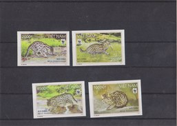 VIETNAM 2010 WWF Imperforated MNH With Fishing Cat. - W.W.F.