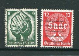 ALLEMAGNE- EMPIRE- Y&T N°509 Et 510- Oblitérés - Duitsland