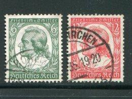 ALLEMAGNE- EMPIRE- Y&T N°522 Et 523- Oblitérés - Used Stamps