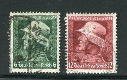 ALLEMAGNE- EMPIRE- Y&T N°528 Et 529- Oblitérés - Allemagne