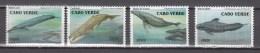 Cabo Verde 2003,4V,whale,walvis,wal,baleine,ballena,balena.MNH/Postfris(A2832) - Walvissen
