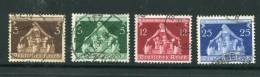 ALLEMAGNE- EMPIRE- Y&T N°573 à 576- Oblitérés - Duitsland