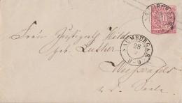 NDP GS-Umschlag 1 Gr. K2 Naumburg 28.9. - Norddeutscher Postbezirk