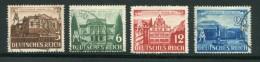 ALLEMAGNE- EMPIRE- Y&T N°688 à 691- Oblitérés (sauf N°690 Neuf Avec Charnière *) - Allemagne