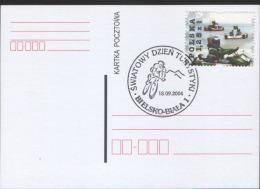 POLAND - 2004. Bielsko-Biała. Postmark  World Tourism Day. Mountain Bike. Must LOOK!