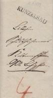 Brief L1 Künzelsau Vom 10.1.1839 - Deutschland