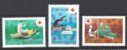 Finlande 1972 N°671/673 Surtaxe Croix Rouge Médecine - Finland
