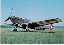 CPM SUISSE THEMES TRANSPORT AERONAUTIQUE - C-3603 - 1946-....: Ere Moderne