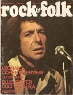 ROCK  &  FOLK   -   N° 92  -  Septembre  1974  -   LEONARD COHEN  /  ELTON JOHN  / BLUE OYSTER CULT ... - Musik