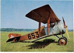 CPM SUISSE THEMES TRANSPORT AERONAUTIQUE - Henriot HD-1 - 1946-....: Moderne