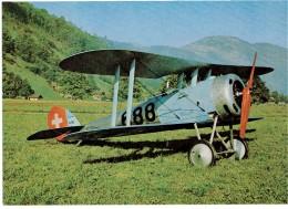 """CPM SUISSE THEMES TRANSPORT AERONAUTIQUE - Nieuport 28.C.1 """"Bébé"""" - 1946-....: Ere Moderne"""
