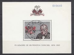 Haïti 1968  Mi.nr: Block 34A Sir Winston Churchill  OBLITERE / USED / GEBRUIKT - Haití